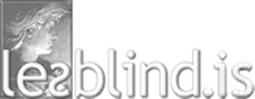 lesblind.is Logo